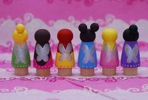 Peg dolls / by Angie Angel