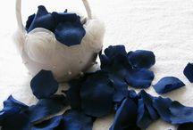 Wedding Palette Dark Blue / paleta de bodas  azul Intenso