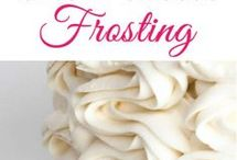 Frosting/Icing/Fillings