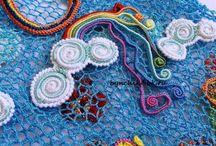 Freeform crochet / Freeform a irské háčkovací techniky