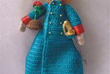 boneca crochê