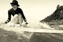 Gidget / Women's surfing / by Erica Baldaray