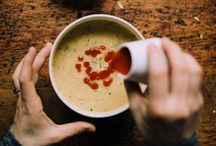 {soup + heartwarming dishes}