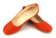 Leather shoes from Morocco. / Handmade women's shoes from Fez (Morocco)