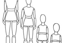 fashion sketches kids