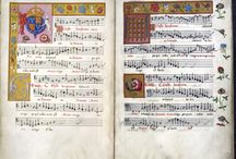 early music scores