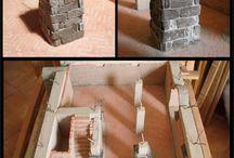stavíme domečky