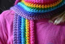 sjaaltje haken regenboog