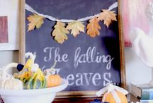 fall is here, hear the yell! / by Leah