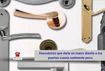 Manillas de Puertas| Venta online www.tiendamanilla.com / Tienda online de herrajes, en especial manivelas de placa y roseta, manillones. Amplio catálogo y precio de fabricante.
