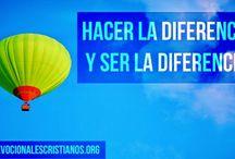 Hacer La Diferencia Y Ser La Diferencia