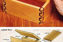 Projekty na práci se dřevem