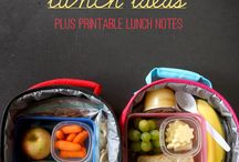 Back to School Lunch Ideas / Keep kids' lunches from being boring with these lunch ideas