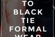 formal wear and hair...