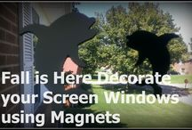 Screen Magnets / Magnets will Decorate screen windows, cars, refrigerators and more.