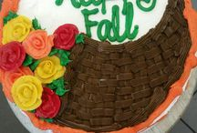 Fall / Thanksgiving Cakes