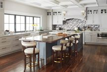 Beautiful New Jersey Kitchen / Open, transitional kitchen featuring painted, shaker, inset doors.