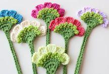 Kwiaty szydełko