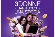 """Web Serie Matilde Vicenzi / Web Serie """"Tre donne, tanti dolci, una storia"""" e Concorso """"Amiche di Matilde"""" http://matildetiramisu.it/web-serie-amiche-matilde/"""