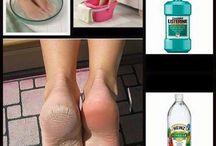 Rough skin on feet diy