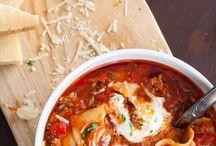 Soupes, potages, bouillons