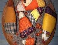 Halloween Fabric (mostly) Dolls & Soft Sculptures & Needleworkings / by Katherine Smith