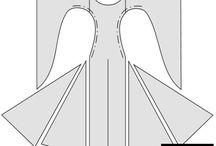 Средневековые платьюшки :3