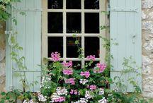 Bloembak raam