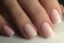 Nails / Elegant, easy and girly nails