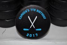 Custom Printed Hockey Pucks