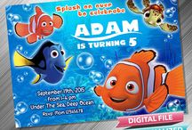 Finding Nemo Birthday Invitation & Printable Party Idea