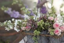 Rustic country style flowers