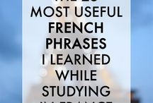 French words/sentences