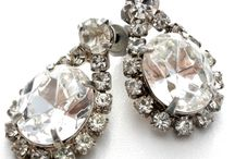 Promises, PROMises / Vintage sparkle for your most romantic day or evening! 'Something old' for a bride, or a unique accent for a prom.