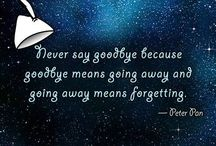 U and I / never say goodbye