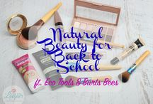 Natural Back To School Beauty / Put your best face forward this school year and grab some #EcoTools & #BurtsBees products at your local #Walmart!