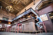 Front bar / Оформление стойки бармена