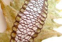 Stitched & Cut Leaves