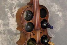 violines madera