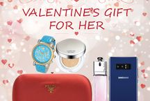 Shop Valentine's Day 2018 Gift for Her at www.28Mall.com / Shop Valentine's Day Gift for Her at www.28Mall.com - original brands, brand new items with cashback reward points for all purchases in our online shopping mall