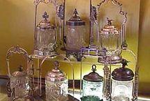 Pickle Castors,Cruet Sets,Biscuit Jars / by Susan Akers