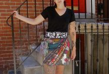 Happy Customers / Pictures of women with Zand skirts #FairlyTraded #Skirt #OneSize