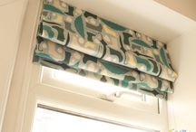 Window treatments / Roman blinds, sheers, curtains and other window treatments