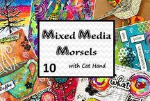 mixed media morsels