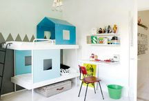 kids rooms / by Courtney Sesler