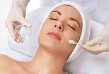 Chemical Peel / A chemical peel is designed to improve the texture and appearance of your skin. During a superficial peel, a chemical solution is brushed onto your skin and then removed after several minutes. The procedure removes the accumulative dull layer of surface skin cells, revealing fresh skin and stimulating cellular renewal.