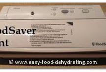 FoodSaver Sealer / FoodSaver sealer - create your own pouches using rolls too! Full info. here