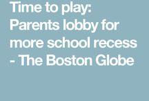 We want recess!