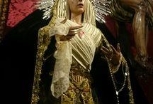 Ntra Madre y Señora de la Merced de luto.