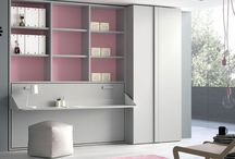 Habitaciones juveniles / Muebles de dormitorio con diseños juveniles.